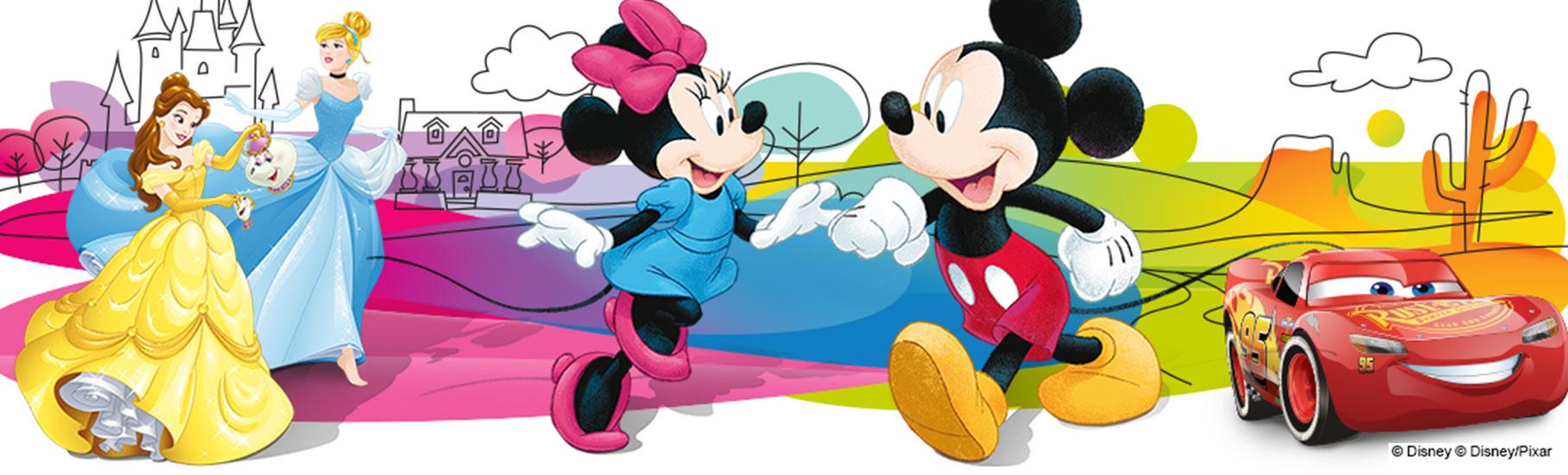 Любимые герои Disney в новых коллекциях «Conte», «DIWARI» и «Сonte- kids»
